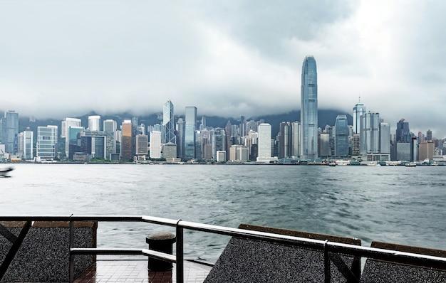 De haven van hongkong victoria