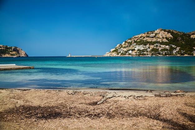 De haven van port d'andratx, mallorca