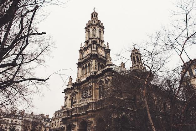 De holy trinity church in parijs, frankrijk