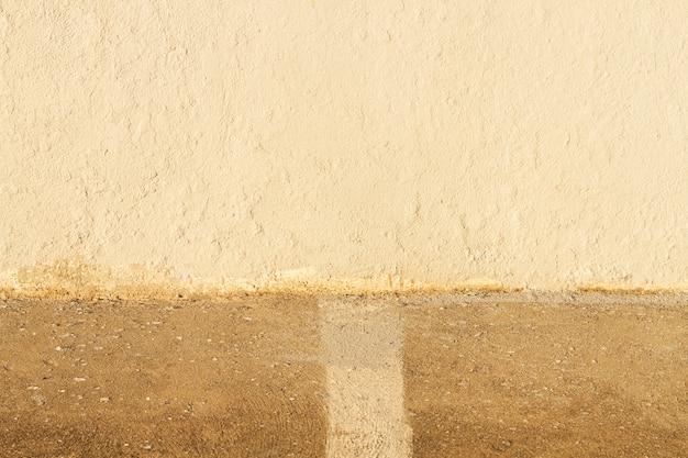 De horizontale abstracte achtergrond van de cementweg