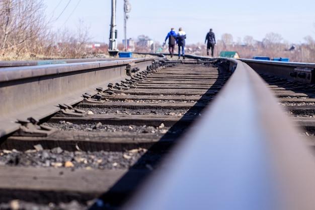 De houten spoorweg