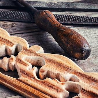 De houtsnijkunst