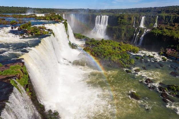 De iguazu-watervallen