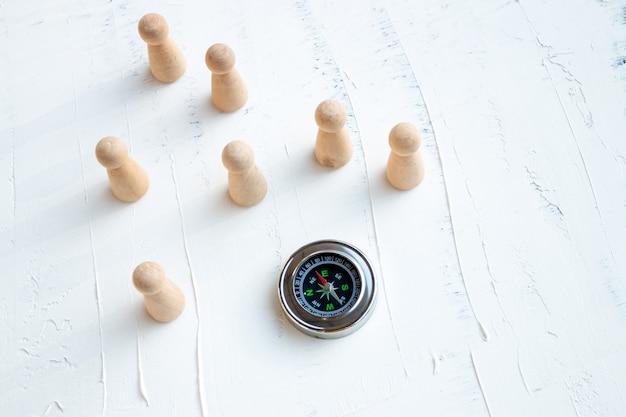 De juiste richting kiezen in het bedrijfsleven is de juiste selectie van medewerkers.