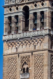 De kathedraal van sevilla en de giralda