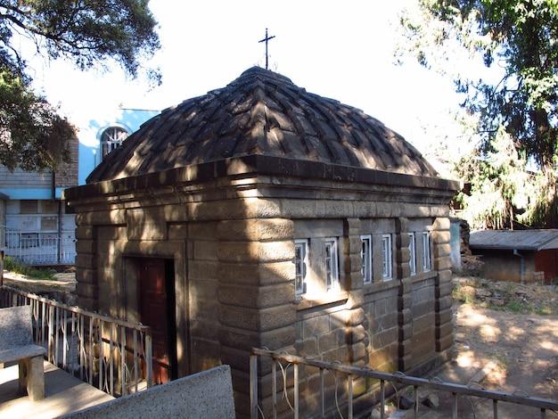 De kerk in addis abeba, ethiopië
