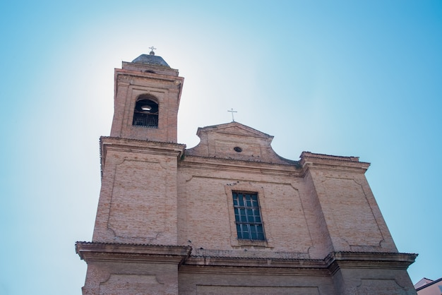 De kerk in santarcangelo europa italië