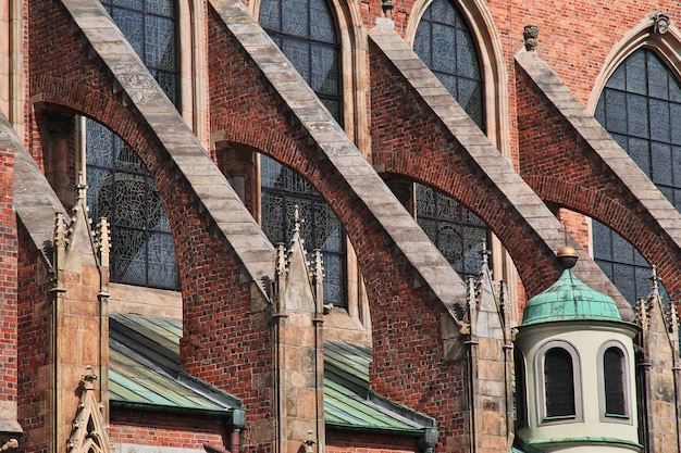 De kerk in wroclaw-stad, polen