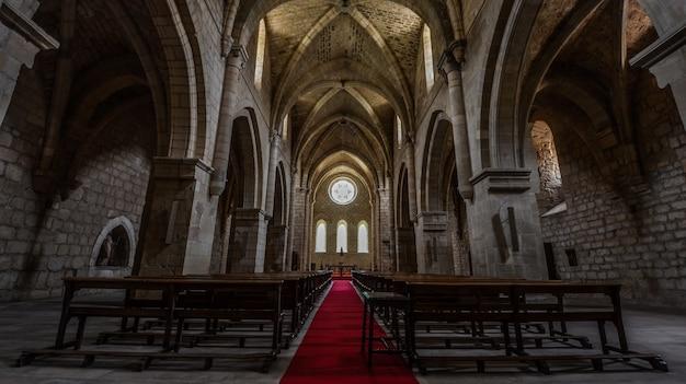 De kerk van het iranzu-klooster