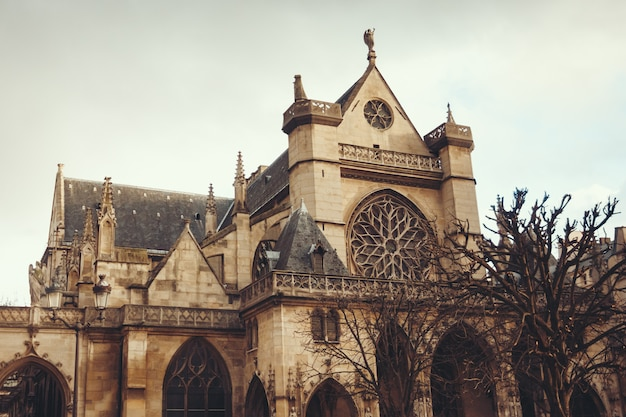De kerk van saint-germain l'auxerrois, parijs