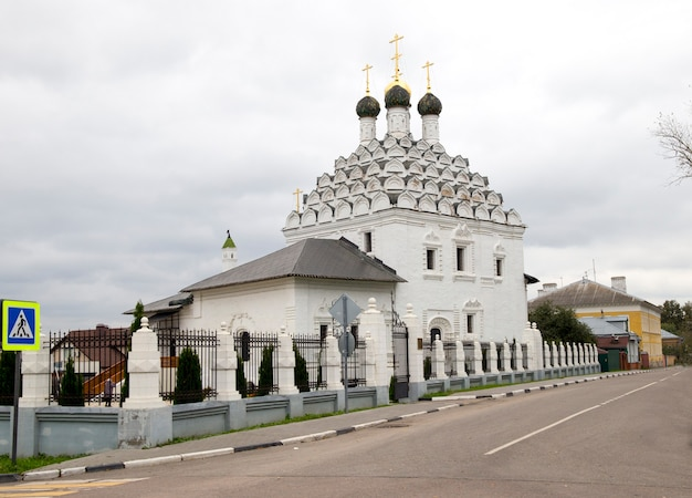 De kerk van sint nicolaas op de kolomna posad