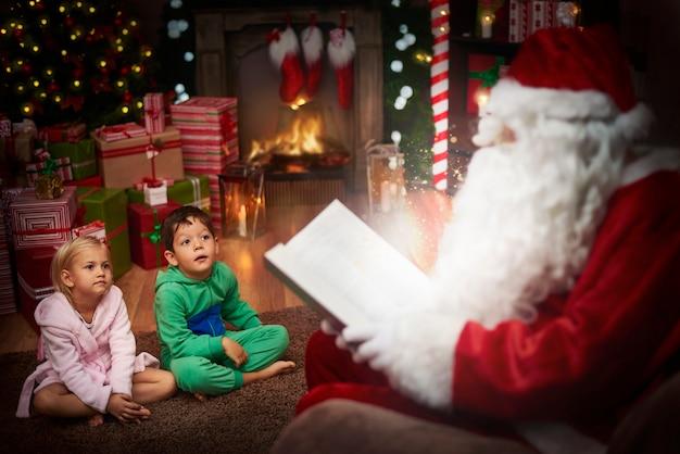 De kerstman is de beste verhalenverteller