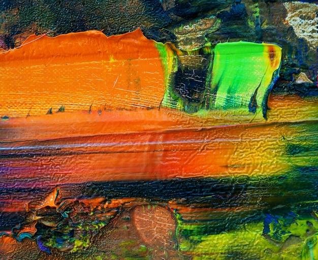 De kleurrijke abstracte achtergrond van de olieverf veelkleurige textuur