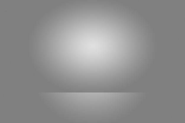 De lege achtergrond van de fotograafstudio samenvatting, achtergrondtextuur van schoonheid donker en licht duidelijk blauw, koud grijs, sneeuwwit gradiënt vlakke muur en vloer.
