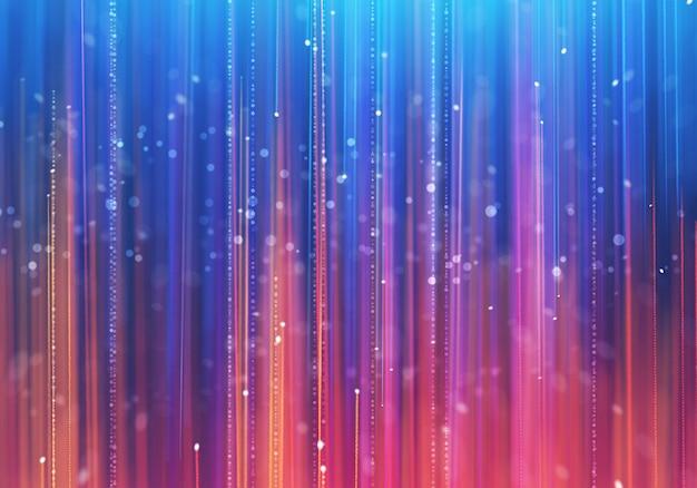 De luxeachtergrond van de aantrekkingskracht met kleurrijke stralen