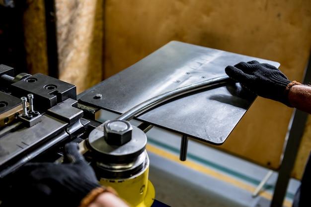 De machine van de rolbuigindustrie maakt pijpvorming.