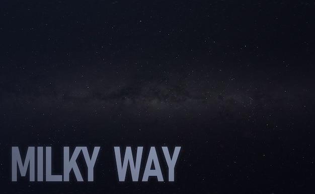 De melkweg abstracte melkweg achtergrondbehang, kunstenaarskunst, uitzicht vanaf observatorium. elementen van deze afbeelding geleverd door nasa