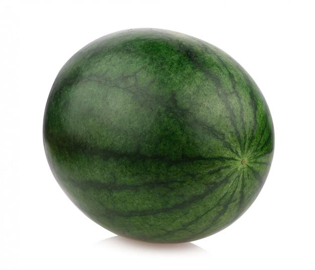 De meloen van het water isoleert op witte achtergrond