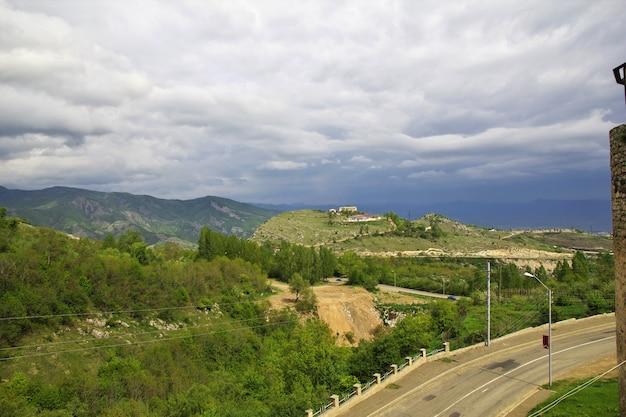 De mening over shushi-stad in nagorno - karabach, de kaukasus