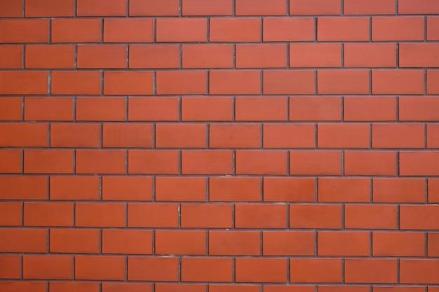 De moderne vintage bakstenen muur voor textuur of achtergrond.