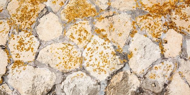 De muurachtergrond van stenen van oude bruin van de steen oude textuur