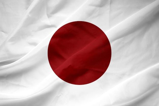 De nationale vlag van japan