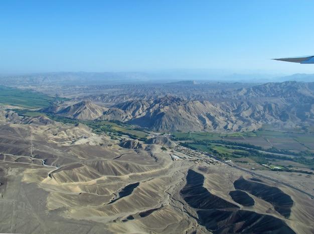 De nazca-lijnen in peru, zuid-amerika