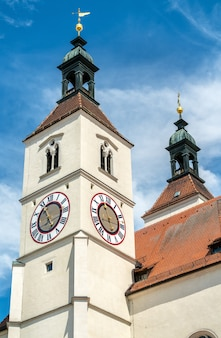 De neupfarrkirche-kerk in regensburg