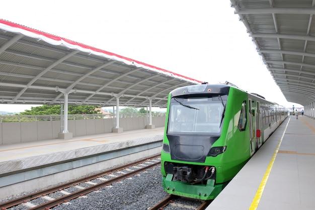 De nieuwe airport train