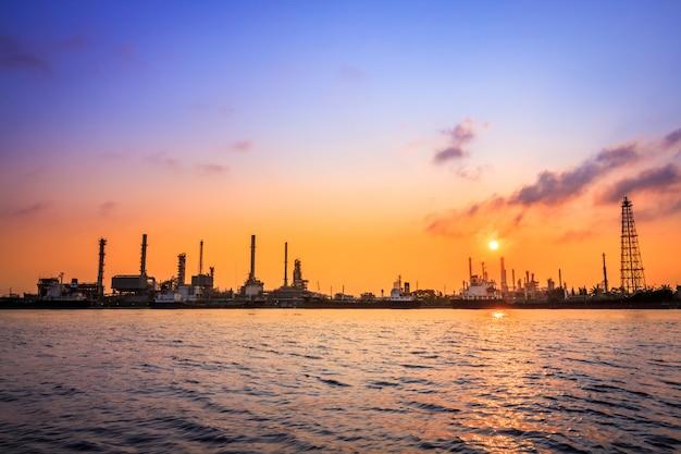 De olieraffinaderij van bangchak petroleum