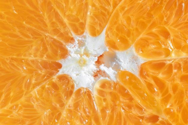 De oranje organische achtergrond van de close-up