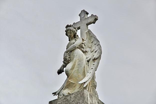 De oude begraafplaats in punta arenas, patagonië, chili