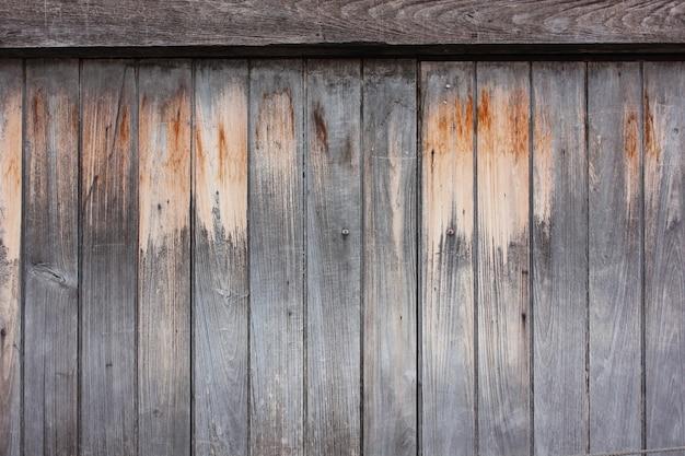 De oude bruine houten ondergrond