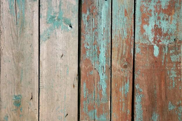 De oude houten planken