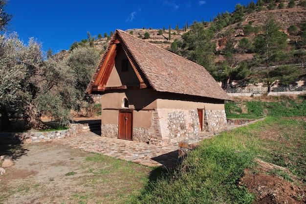 De oude kerk in galata, cyprus