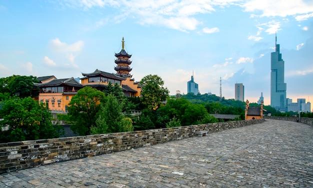 De oude muur van nanjing