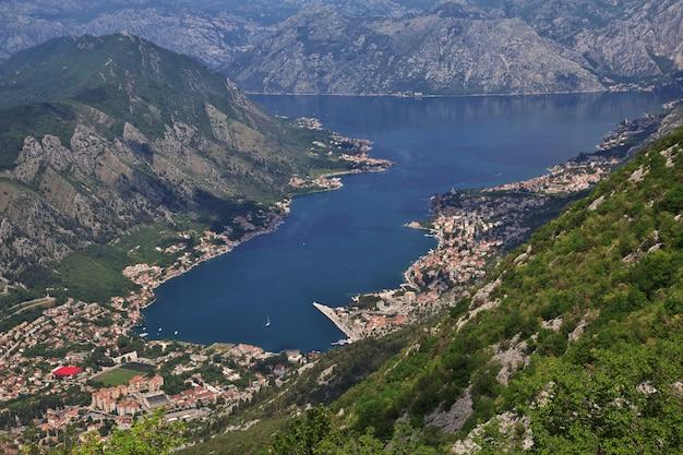 De oude stad kotor aan de adriatische kust, montenegro