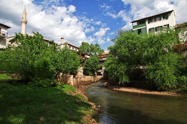 De oude stad mostar, bosnië en herzegovina