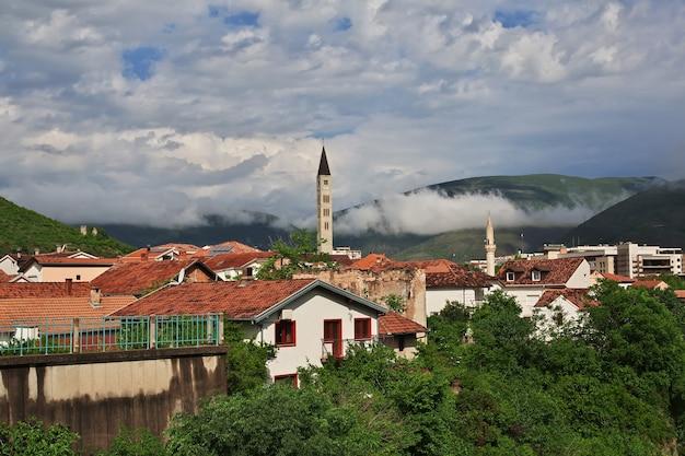 De oude stad mostar in bosnië en herzegovina