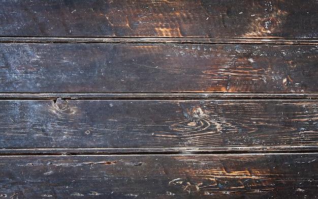 De oude textuur geschilderd houten plank. detailopname