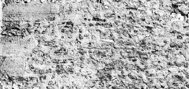 De oude textuur van het muurpanorama die als achtergrond kan worden gebruikt