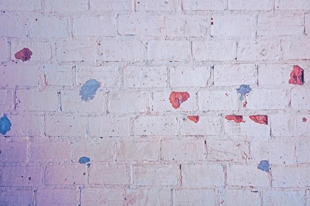 De pastelkleur van de baksteentextuur