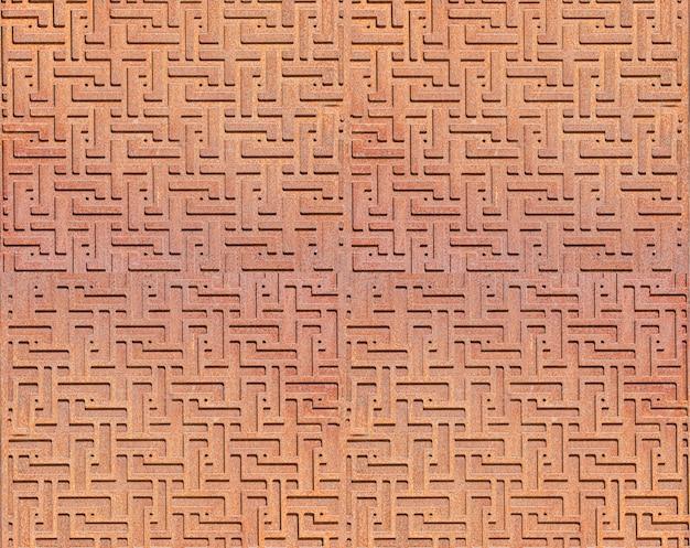 De patroon metalen abstracte achtergrond. selectieve aandacht