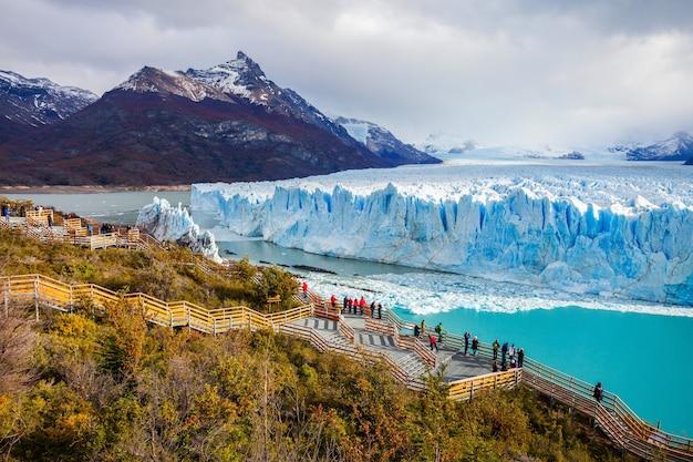 De perito moreno-gletsjer