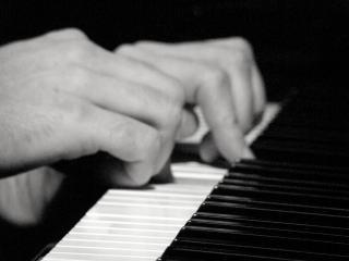 De pianoman, een instrument