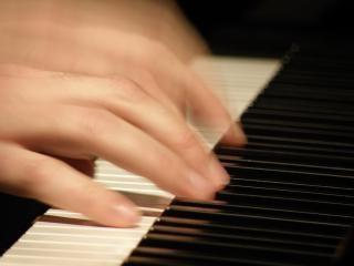 De pianoman, vingers