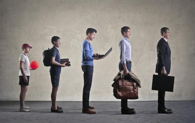 De professionele groei
