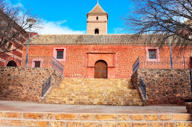 De rode kerk van totana