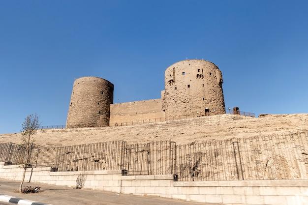 De saladin citadel - de moskee van muhammad ali of mohamed ali pasha, ook bekend als de albasten moskee. egypte. cairo.