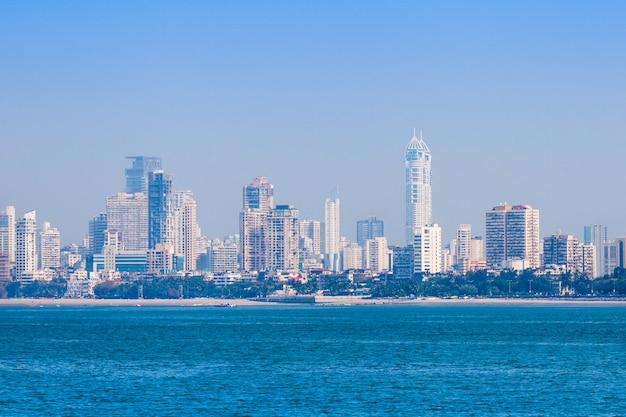 De skyline van mumbai